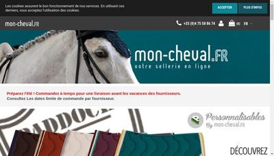 Site internet de Mon Cheval