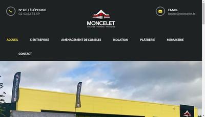 Site internet de Moncelet Bruno