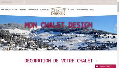 Site internet de Mon Chalet Design