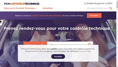 Site internet de Moncontroletechnique