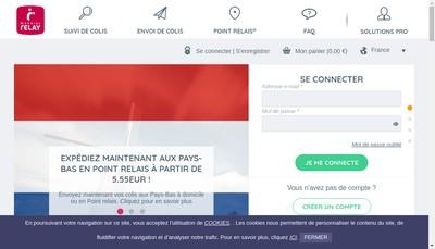 Site internet de Point Relais