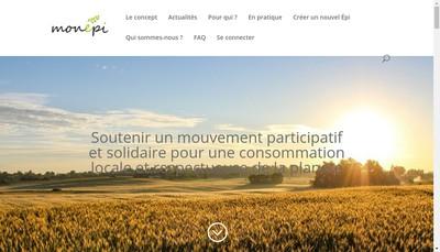 Site internet de Monepi