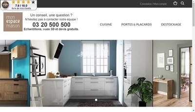 Site internet de Mon Espace Maison