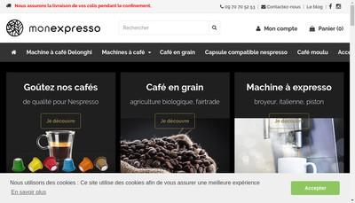 Site internet de Monexpresso Com