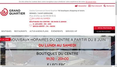 Site internet de Gelin Grand Quartier