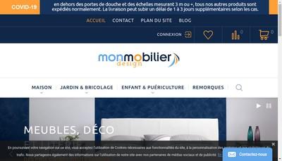 Site internet de Mon Mobilier Design