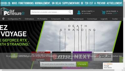 Site internet de Monpcsurmesure