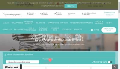 Site internet de Mon Petit E Commerce