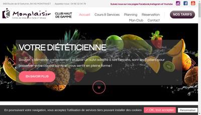 Site internet de Monplaisir Sporting Club