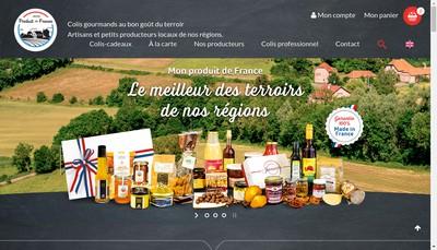 Site internet de Monproduitdefrance