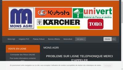Site internet de Mons Agri