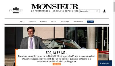 Site internet de Monsieur Montres Magazine Tic-Tac