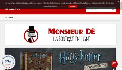 Site internet de Monsieur de