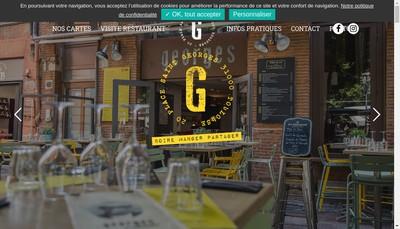 Site internet de Monsieur Georges