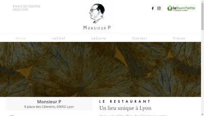 Site internet de Monsieur P