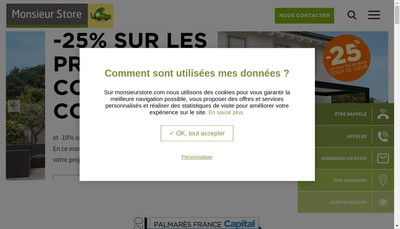 Site internet de Soleanis SARL