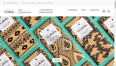 Site internet de Monsieur Txokola