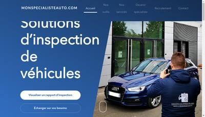 Site internet de Monspecialisteauto Com