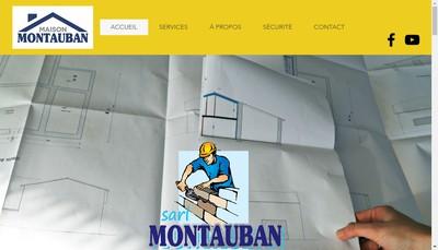Site internet de Montauban et Fils