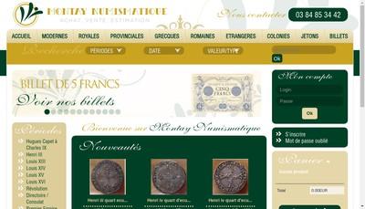 Site internet de Montay Numismatique