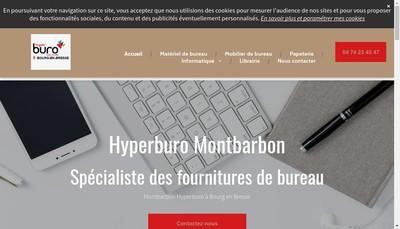 Site internet de Montbarbon SAS