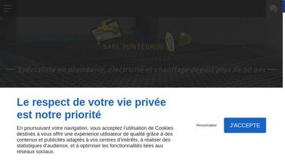 Site internet de Montebrun Pere et Fils