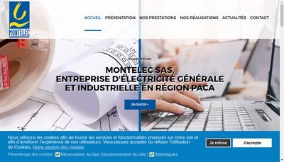 Site internet de Montelec