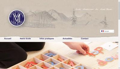 Site internet de Ecole Montessori
