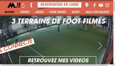 Site internet de Mont Foot 5