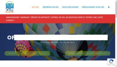 Site internet de Air Montgolfieres