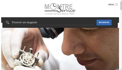 Site internet de Montre Service