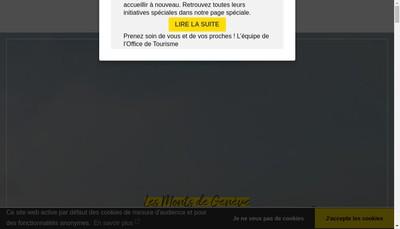 Site internet de Annemasse - les Voirons Tourisme