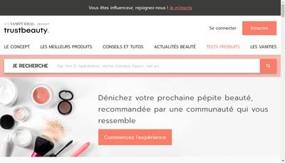 Site internet de Mon Vanity Ideal