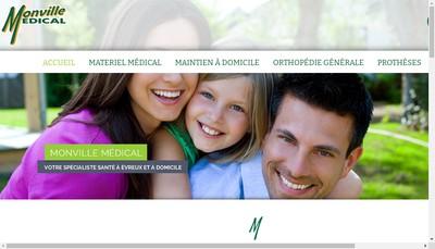 Site internet de Monville Medical