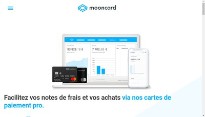 Site internet de Moongroup