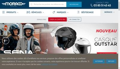 Site internet de Moraco