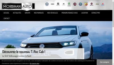 Site internet de Groupe Morbihan Auto Kermorvant Automobiles Groupe Morbihan Auto Location Kermorvant Automobiles
