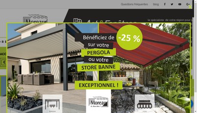 Site internet de Etablissements Moreau