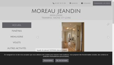 Site internet de Etablissements Moreau Jeandin