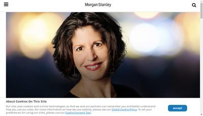 Site internet de Morgan Stanley Properties France