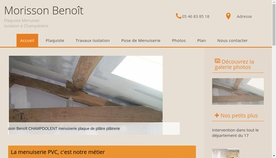 Site internet de Benoit Morisson
