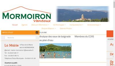 Site internet de La Table des Amis