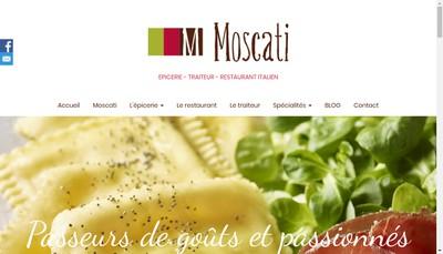 Site internet de Moscati