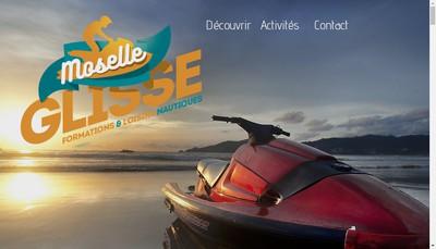 Site internet de Moselle Glisse