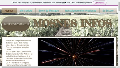 Site internet de Epicerie de Mosnes