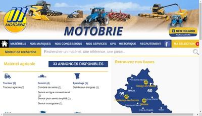 Site internet de Motobrie