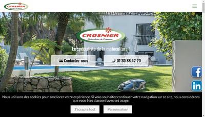 Site internet de SAS Crosnier Pere et Fils