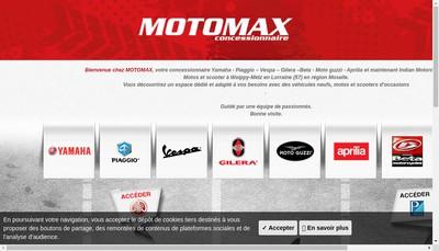 Site internet de Motomax