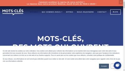 Site internet de Mots-Cles