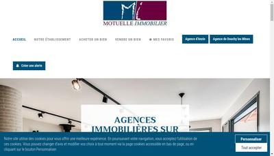 Site internet de Motuelle Immobilier